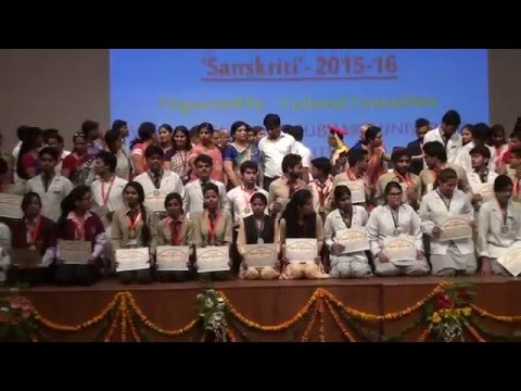 Subharti University Diploma Convocation at  Mangalya Auditorium on 16 th May Clip15
