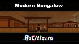 Roblox - Rocitizens Modern Bungalow [House Tour] [New House]