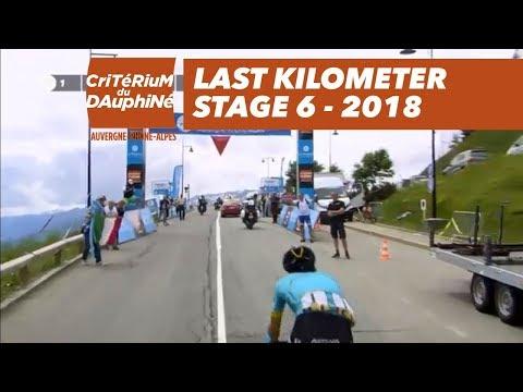 Last kilometer - Stage 6 (Frontenex / La Rosière Espace San Bernardo) - Critérium du Dauphiné 2018