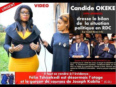 Candide OKEKE  dresse le bilan de la situation en RDC