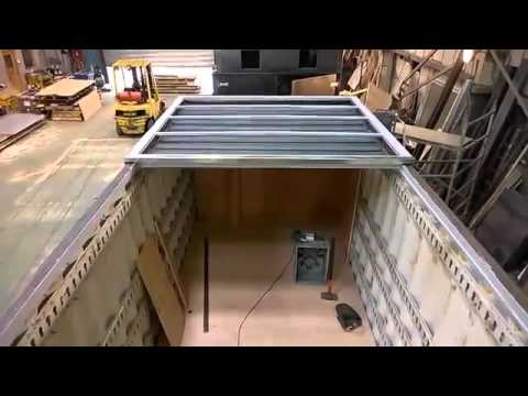 Fuel Store and Boiler Room Shipping Container Conversion