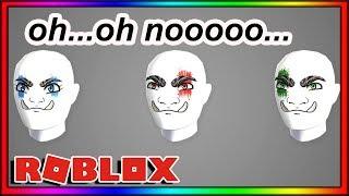 ROBLOX'S NEW FACES ARE PRETTY BAD BRO