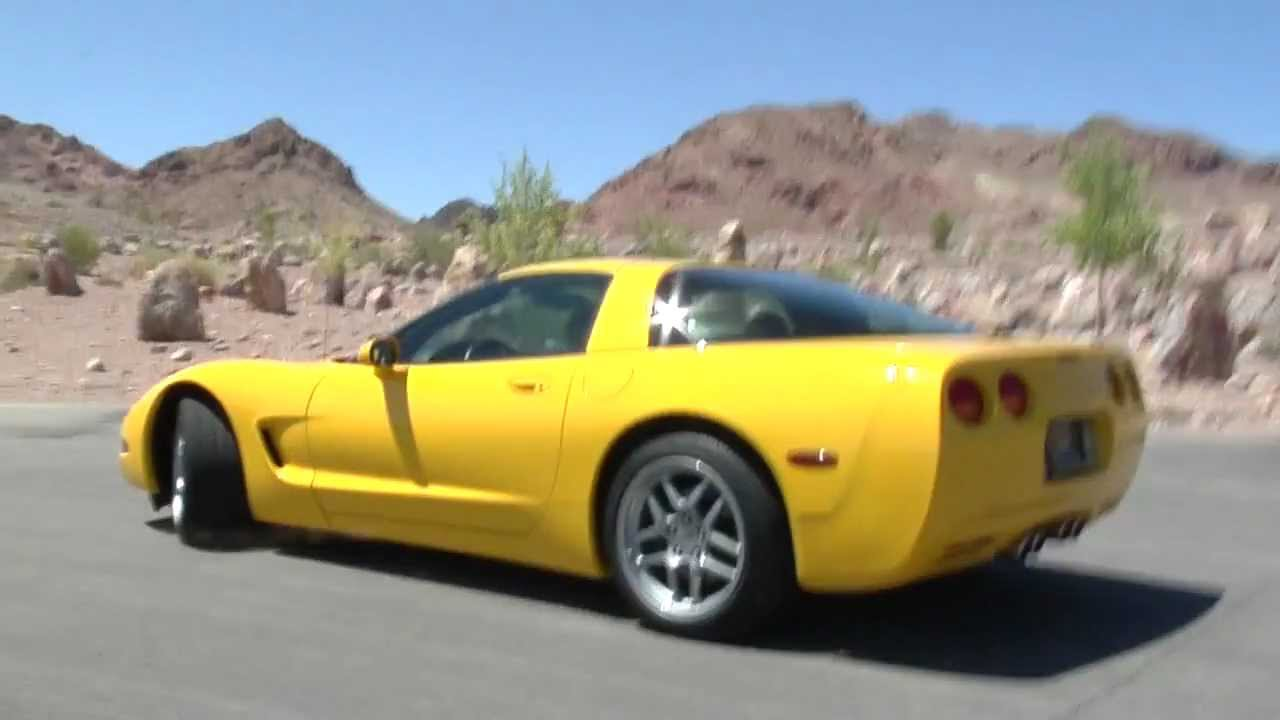 Chevy Corvette 2000 Yellow Youtube