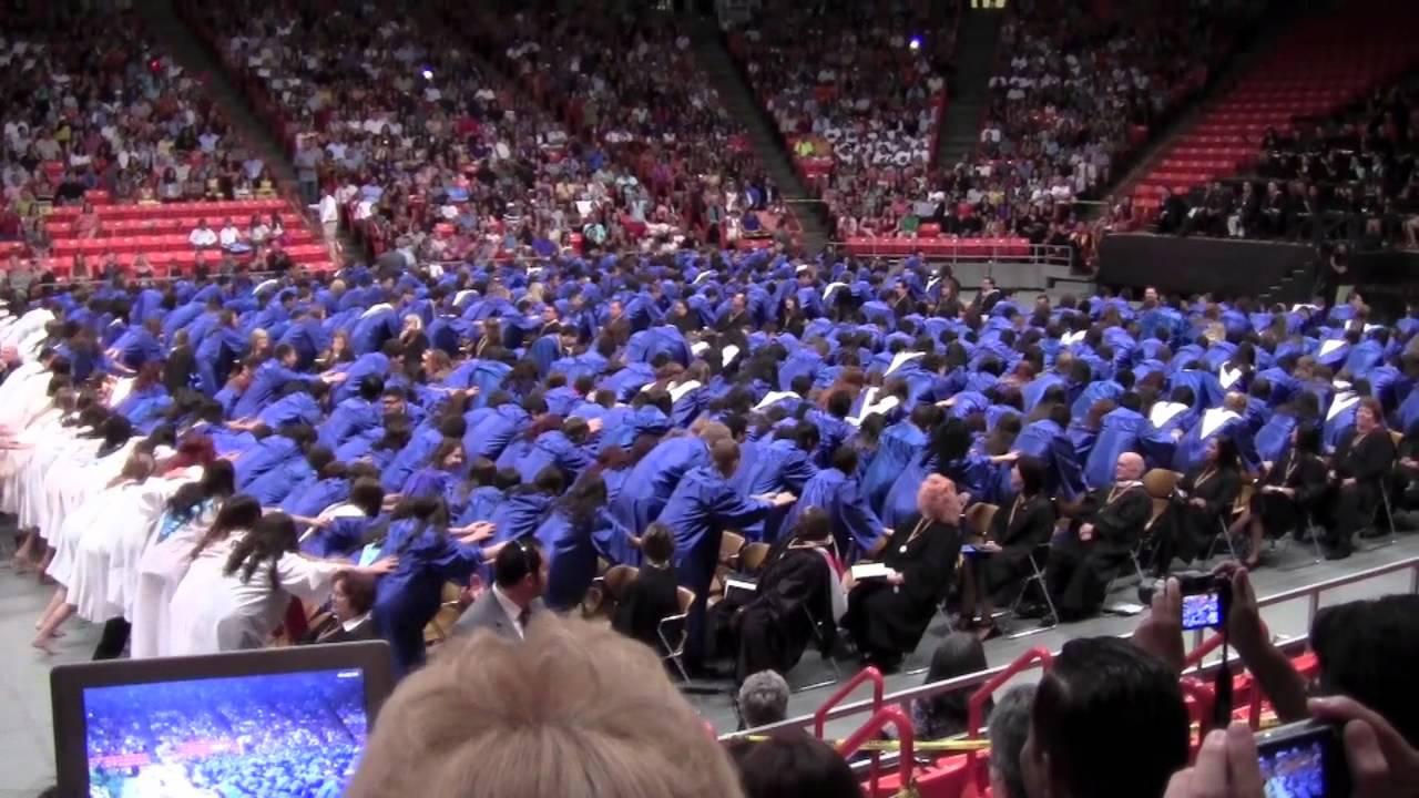 Eastwood High School Class of 2012 Graduation Flash Mob - YouTube