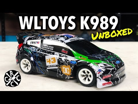 WLTOYS K989 Unboxing And Comparison To Kyosho Mini Z