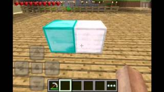 Minecraft PE 0.7.2 How to get Unlimited DIAMONDS!![READ DESCRIPTION]