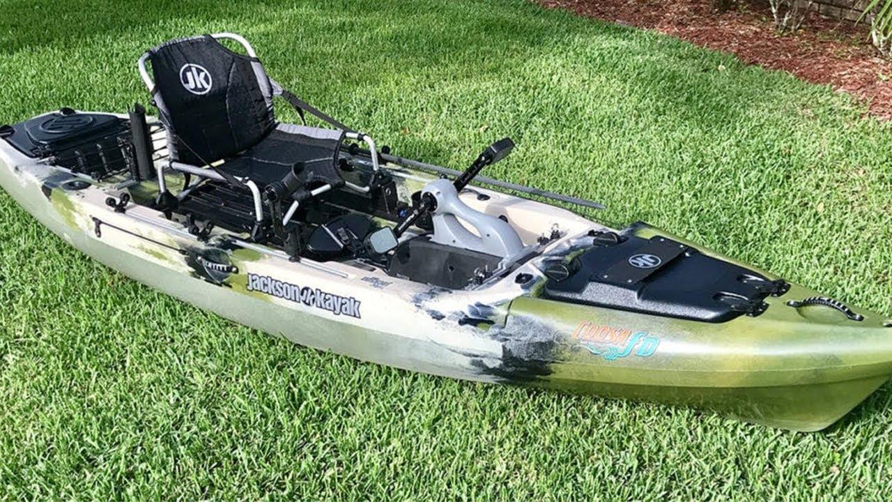 Jackson Coosa Flex Drive Kayak Review Pros Cons