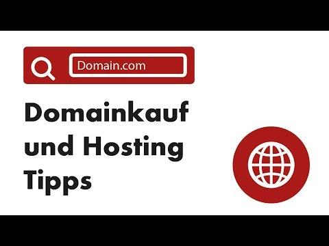 Domain erstellen/ einrichten und Seite Hosten - darauf muss man achten!