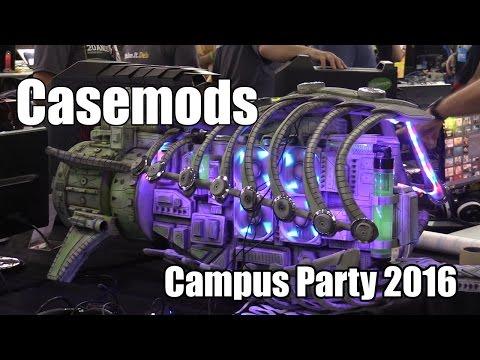 Confira os casemods mais legais da Campus Party 2016