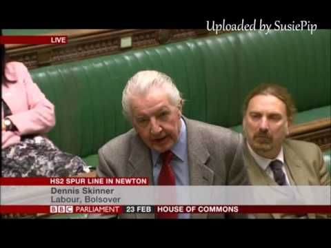 Dennis Skinner, 23.02.2017 - Replies to the Tory Minister following debate