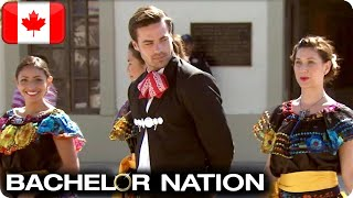 Tim Sets Mexican Mariachi Dance Challenge | The Bachelor CA