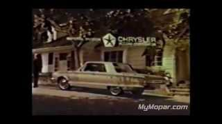 1965 Chrysler TV Commercial