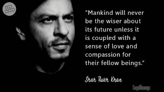 SRK's inspirational quotes from Ted Talk