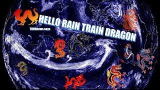 Hurricane Ophelia & 100% proof Rain Train Dragons are 100% REAL!