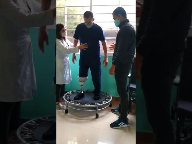 Seção de reabilitação de pós protetização