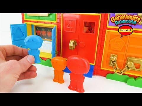 ¡Aprende los Colores con Video Educativo para Niños! Escuela de Juguete