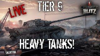 Tier 9 Heavy Tanks - Live - Wot Blitz