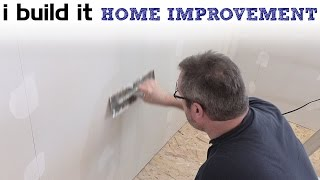 How To Drywall Without Sanding Part 3 - Flat Seams And Corner Beads