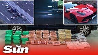 UK's biggest ever COKE bust | M6 motorway drugs raid