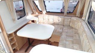 Adria Adora 642 UP 2009 Touring Caravan - tour / show through