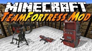 Minecraft Mods - Team Fortress 2 Mod