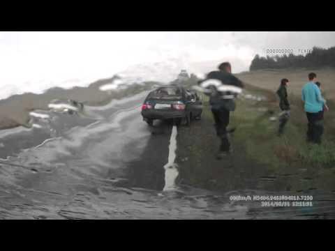 ДТП Ульяновская область смотреть с 2 мин 15 сек