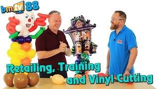 retailing training and vinyl cutting bmtv 88