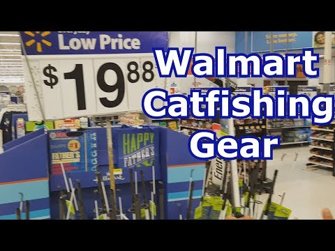 Best Walmart Catfishing Gear – Rod, Reel, Bait, and Tackle