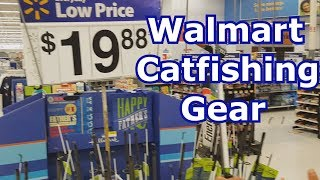 Best Walmart Catfishing Gear - Rod, Reel, Bait, and Tackle