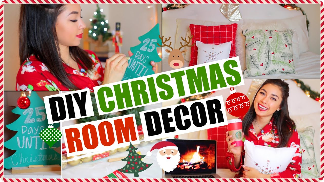 diy holiday room decor cheap easy ways to decorate your room