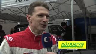 Mikuláš Rally Slušovice 2016, reportáž ČT sport