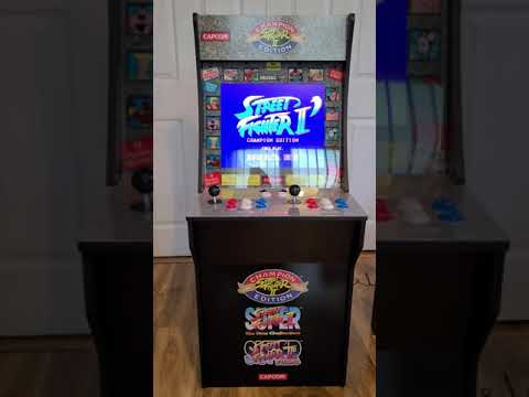 My New Arcade1up Street Fighter Cabinet from shagster007