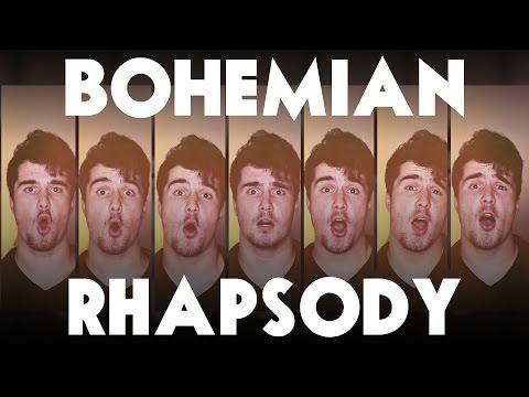 Queen - BOHEMIAN RHAPSODY - David Fowler A Cappella Official