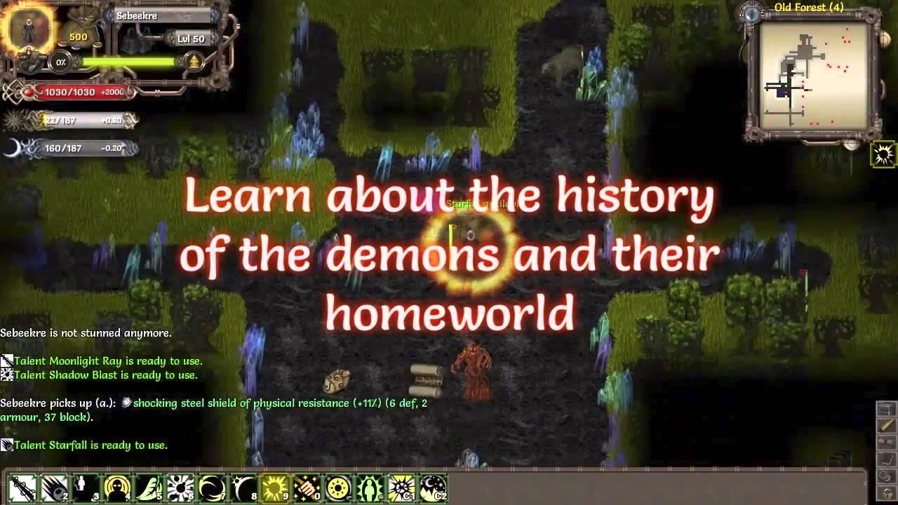 Tales of Maj'Eyal: Ashes of Urh'Rok DLC trailer