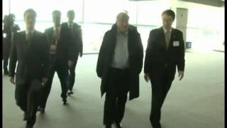 IMF Managing Director Dominique Strauss-Kahn Seoul arrival