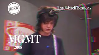 MGMT - Full Performance - Live on KCRW, 2008