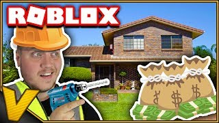 BUILDS JUST MY OWN HOUSE! :: House Tycoon Roblox Danish