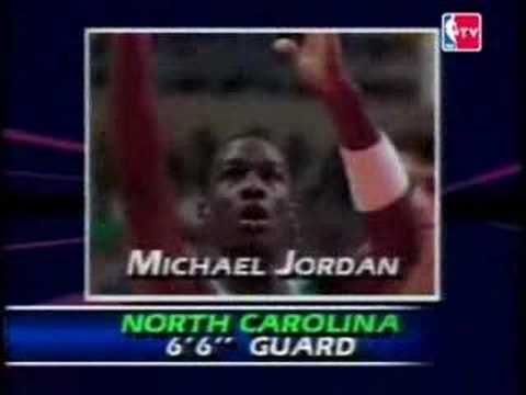 NBA Draft 1984 - Michael Jordan (Pick NO.3)