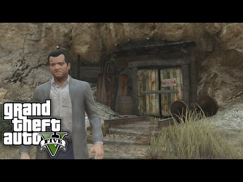 GTA 5 Secret Locations - New SECRET MINE TUNNEL On GTA 5 PS4 / Xbox One! (GTA 5 Secrets)