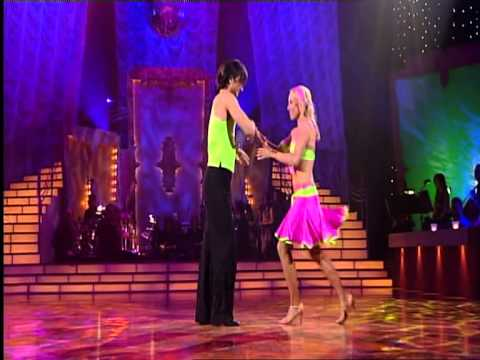 Dancing with the Stars episode 6 - the Salsa