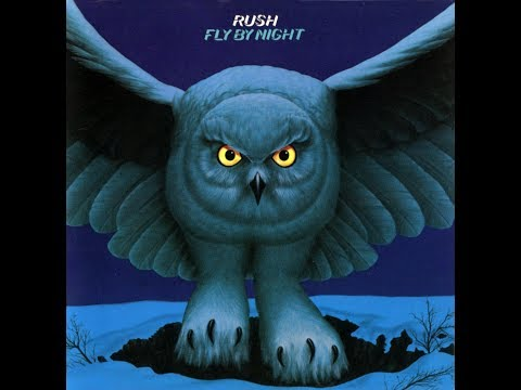 Rush fly by night album 1975