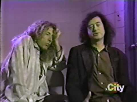 Jimmy Page & Robert Plant City Pulse  Interview 1995 (Toronto)