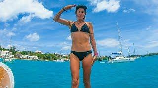 BERMUDA after 7 days at SEA! Sailing Vessel Delos Ep. 245