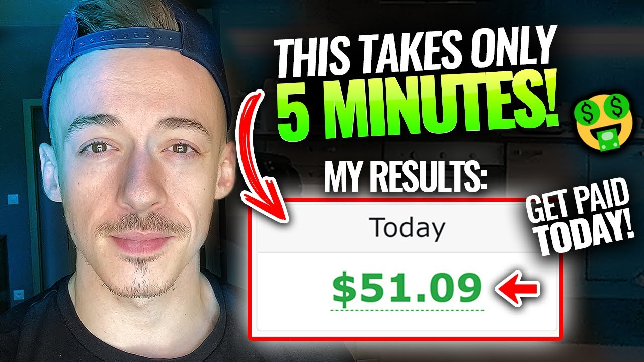 How To Make $51.09 In Just 5 Minutes! Step By Step ($500+ per HOUR!)   Make Money Online 2021