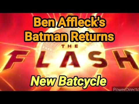 The Flash Movie News: Ben Affleck Returns With New Batsuit And Batcycle By Joseph Armendariz