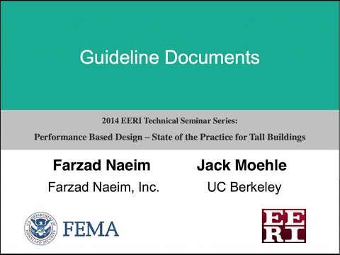 Guideline Documents - Performance Based Design of Tall Buildings (2 of 10)