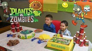 Plantas Vs Zombies Fiesta Infantil VLOG #1 | Kidsplace Town