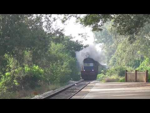 Nagercoil - Bangalore Express passing Belandur Road (BLRR)