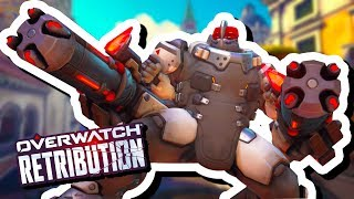 YA BOY IS PLAYING THIS ON EASY MODE | Overwatch Retribution