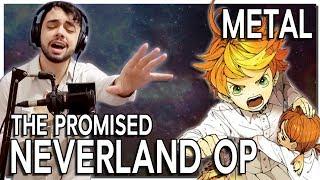 "THE PROMISED NEVERLAND OP (em Português feat Leonardo Machado) - ""TOUCH OFF"" Metal Cover"